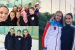 Подопечные Винер-Усмановой устроили фотосессию с фигуристками Тутберидзе
