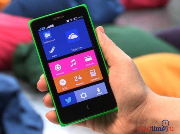 В России стартовали продажи смартфона Nokia X на Android