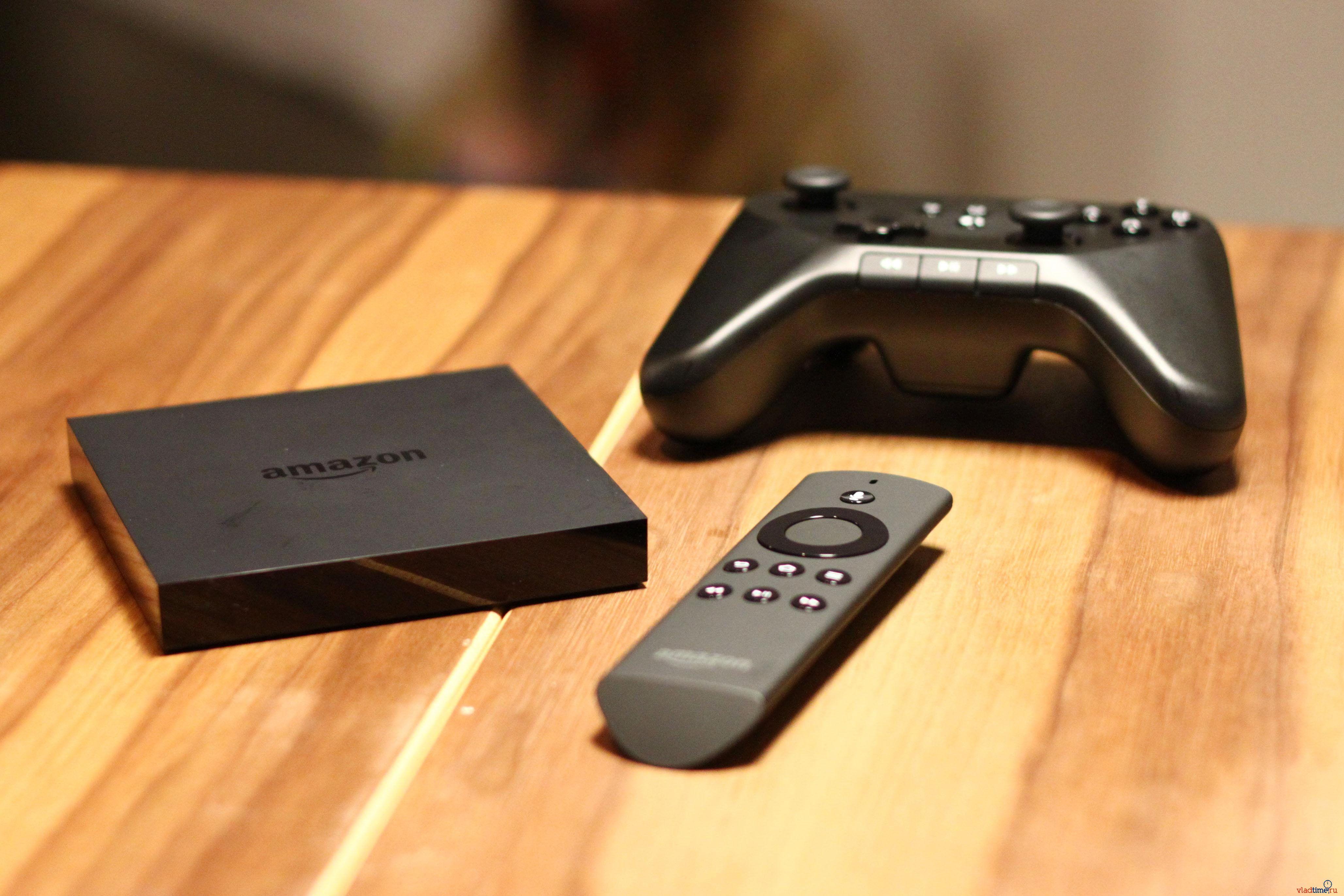 Amazon анонсировала собственную игровую консоль Fire TV
