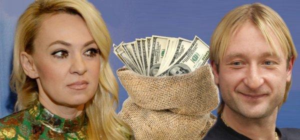 Давно бы развелся, но... Плющенко «терпит» Рудковскую из-за «космических» доходов с Гном Гномыча? thumbnail