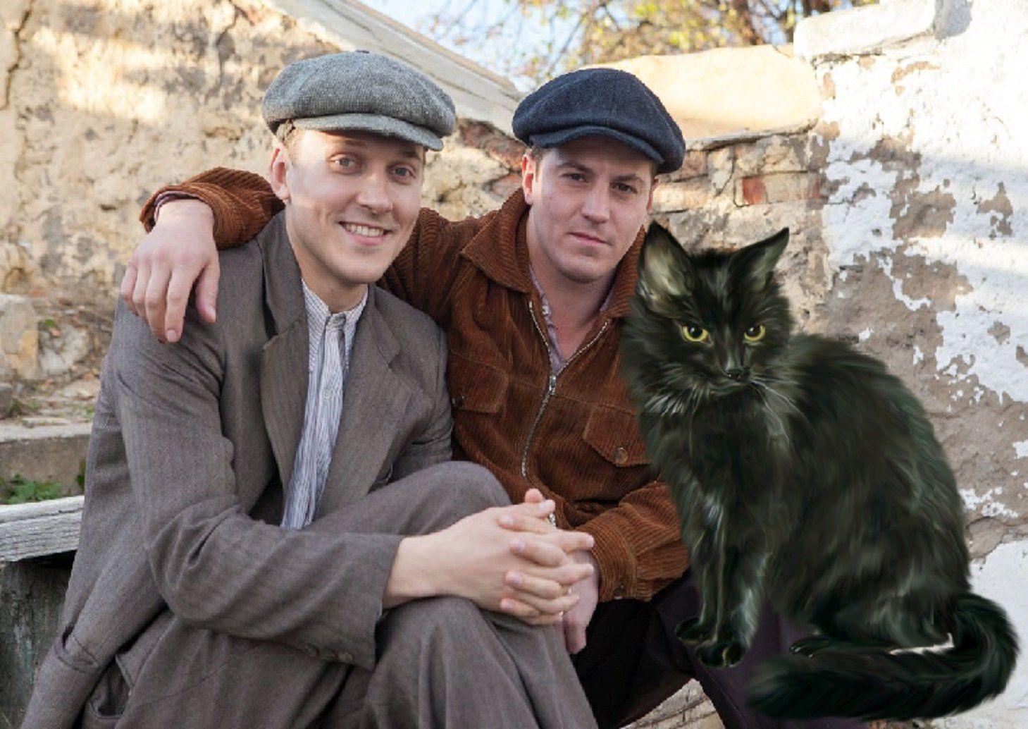 Черная кошка актер фото
