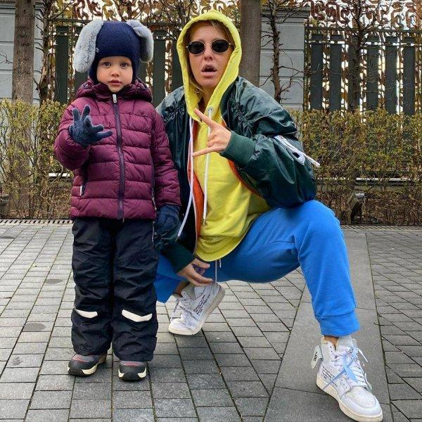 Ксения Собчак показала позитивное фото с сыном в неожиданном амплуа