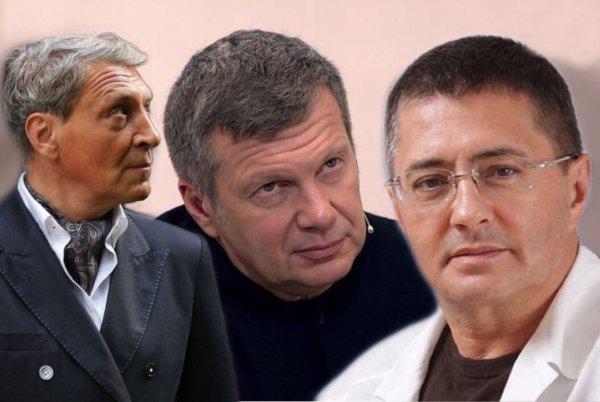 Невзоров заявил: «Мясников, вероятно, заменит заезженного Соловьева на России-1»