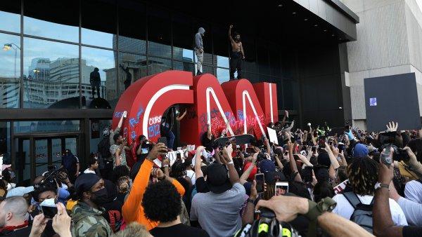Штаб-квартира телеканала CNN в Атланте подверглась нападению протестующих