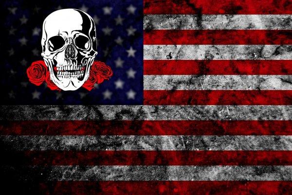 Перерастающие в революцию беспорядки в США развалят страну на автономные штаты