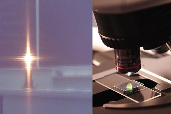 Датско-российская нанолинза улучшит возможности микроскопов и телескопов