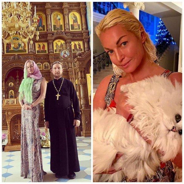 Волочкова негодует, что закрытым храмом. Фото: Instagram @volochkova_art