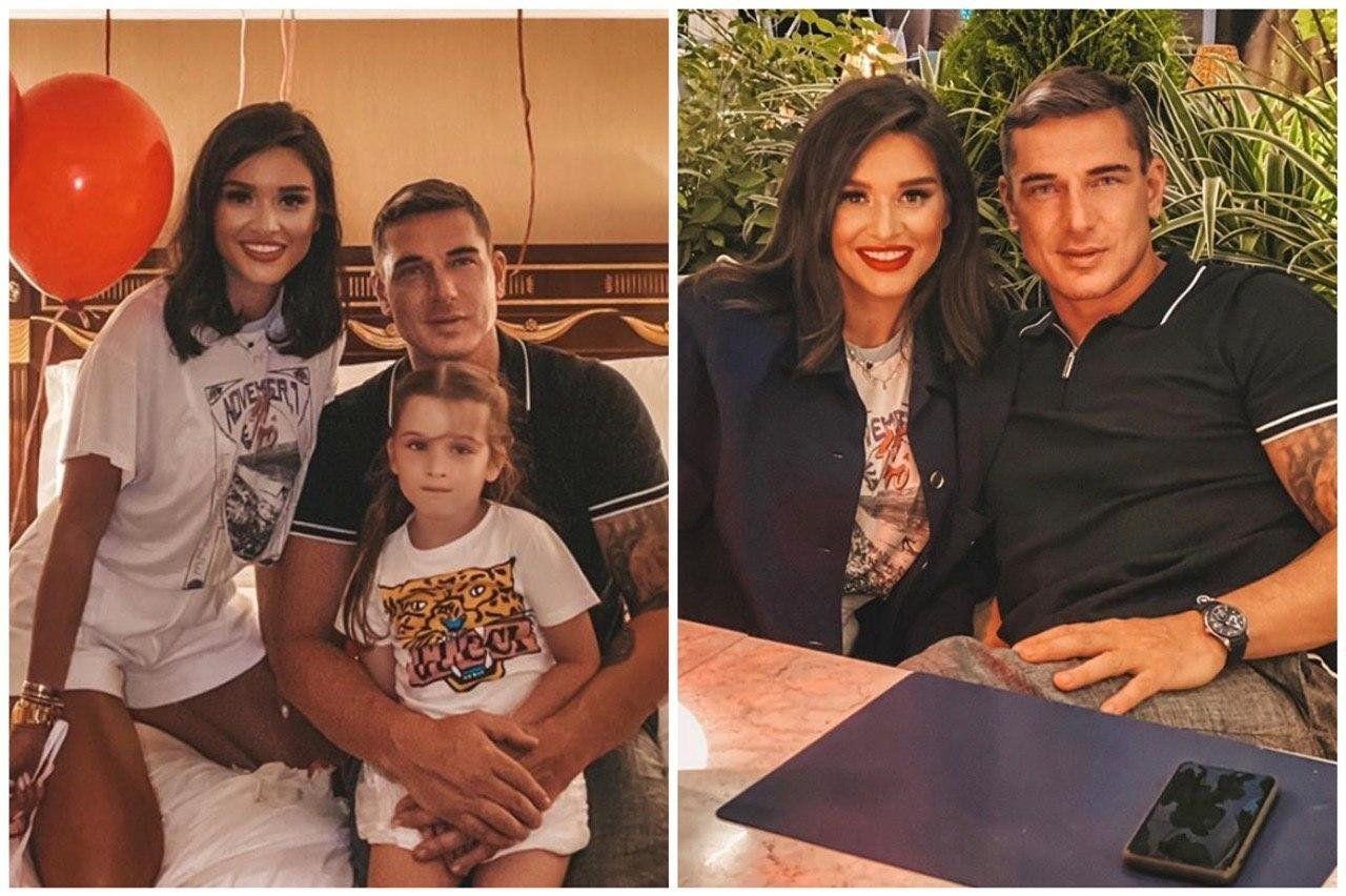 Бородина и Омаров отпраздновали 5 лет со дня свадьбы