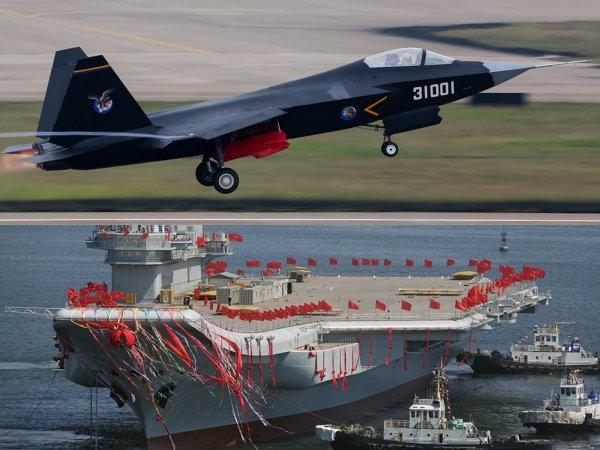 Китай испытает новый палубный истребитель в 2021 году