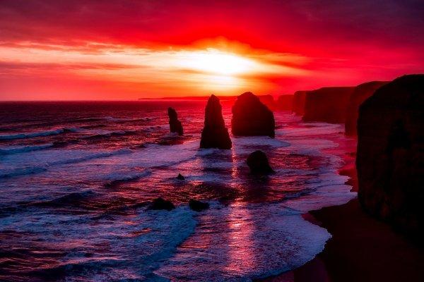 В прошлом 160 км береговой линии были заселены первыми жителями Австралийского континента; Фото: Pixabay