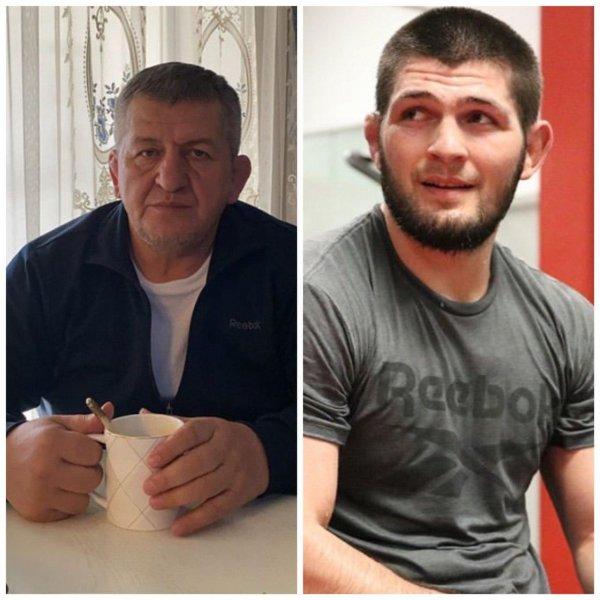 Скончался отец и тренер Хабиба Нурмагомедова