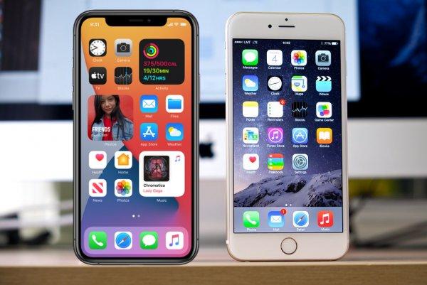 Бета-версию iOS 14 запустили наiPhone 6s