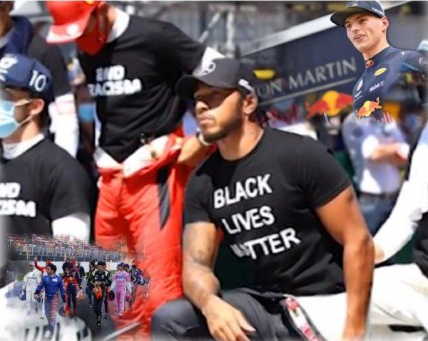 Шесть пилотов «Формулы-1» не стали преклонять колено в знак борьбы с расизмом
