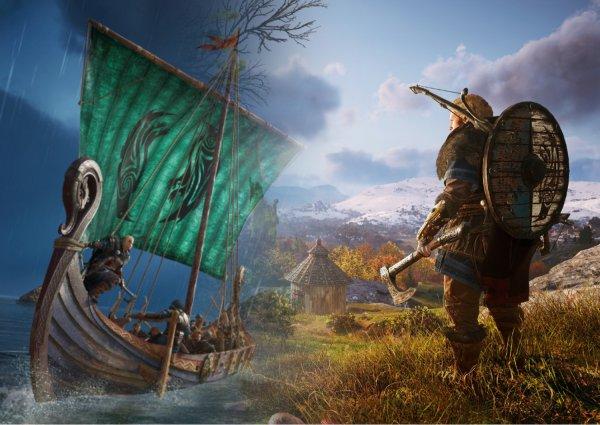 В Сети появилось первое геймплейное видео Assassin's Creed Valhalla