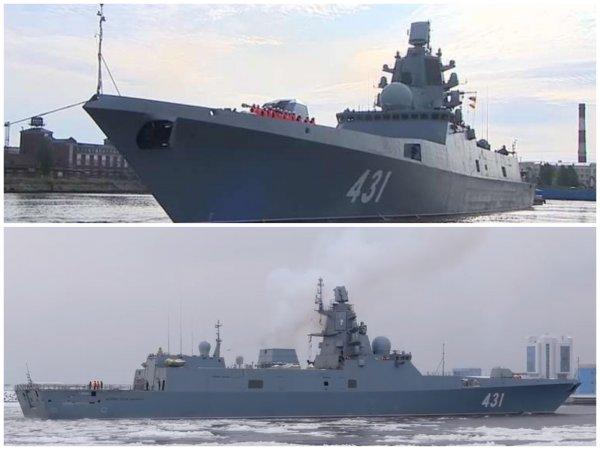 Фрегат «Адмирал Касатонов» с ракетами «Калибр» в июле войдет в состав ВМФ РФ