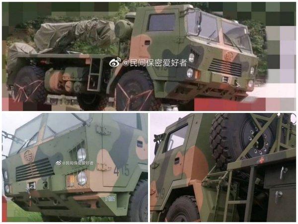 Опубликованы фото китайской РСЗО B-12 на колёсном шасси