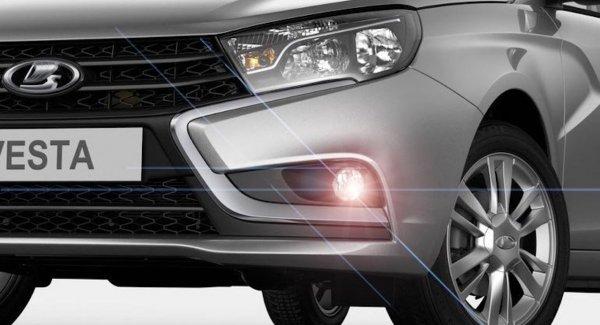 «АвтоВАЗ» оснастил обновлённую LADA Vesta FLсветодиодными фарами ифонарями