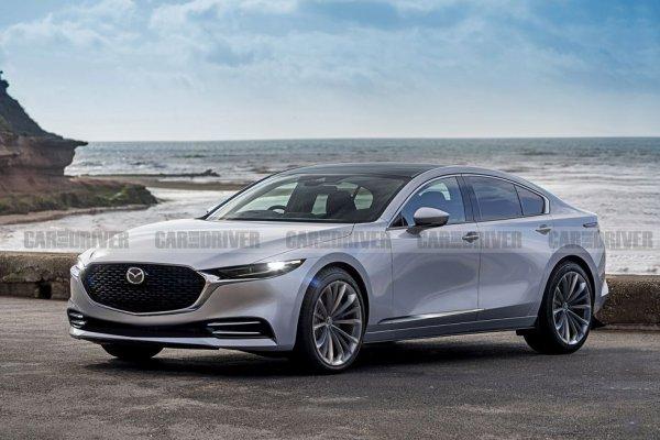 Свежие подробности о Mazda 6 нового поколения попали в Сеть